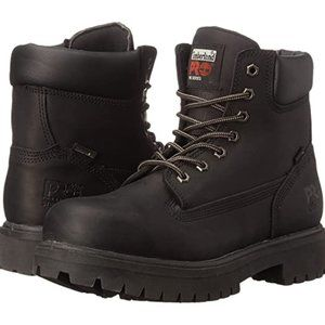 """TIMBERLAND PRO DIRECT-ATTACH 6"""" BOOTS 26036 - 9.5"""
